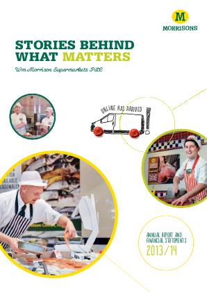 Morrison(WM) Supermarkets annual report 2014