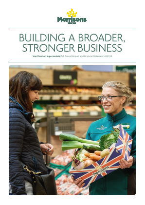 Morrison(WM) Supermarkets annual report 2018