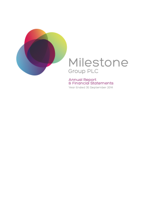 Catenae Innovation (previously Milestone Group) annual report 2014