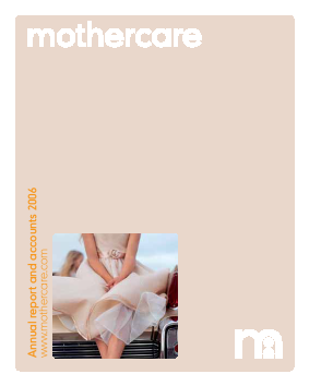 Mothercare annual report 2006