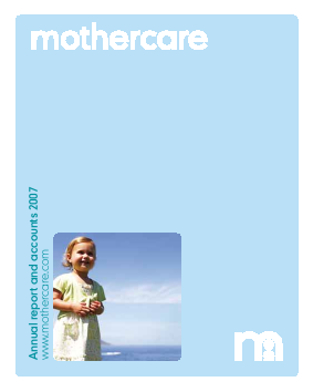 Mothercare annual report 2007