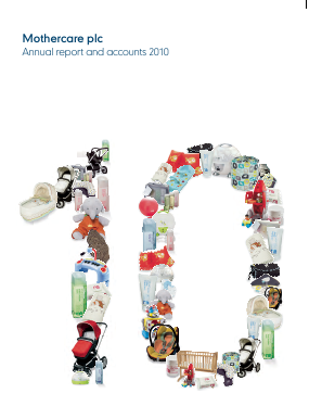 Mothercare annual report 2010