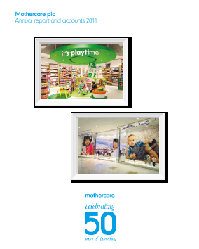 Mothercare annual report 2011
