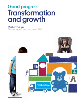 Mothercare annual report 2013