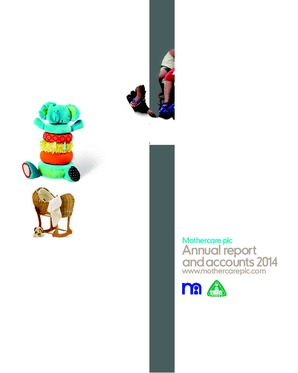 Mothercare annual report 2014