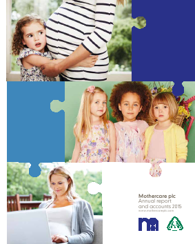 Mothercare annual report 2015