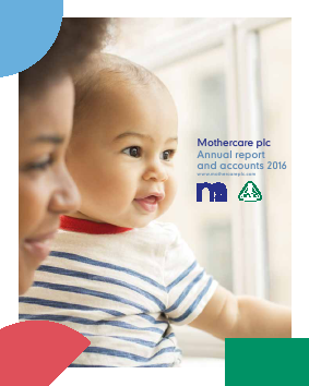 Mothercare annual report 2016