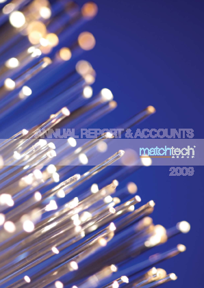 Gattaca (Previously Matchtech) annual report 2009