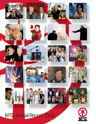 Modern Times Group annual report 2003