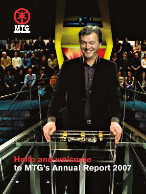 Modern Times Group annual report 2007