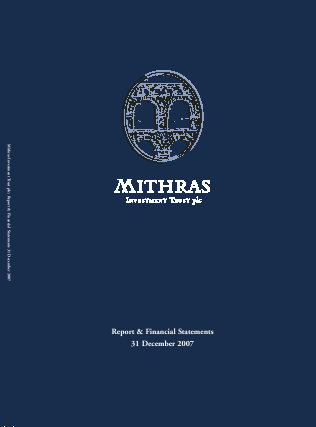 Mithras Investment Trust annual report 2007