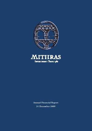 Mithras Investment Trust annual report 2009