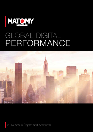 Matomy Media Group annual report 2014