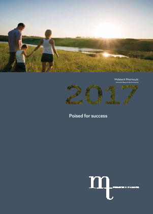 Midatech Pharma Plc annual report 2017