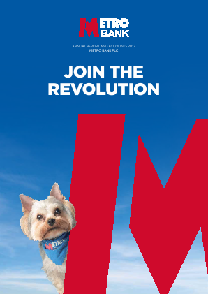 Metro Bank annual report 2017