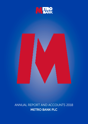 Metro Bank annual report 2018
