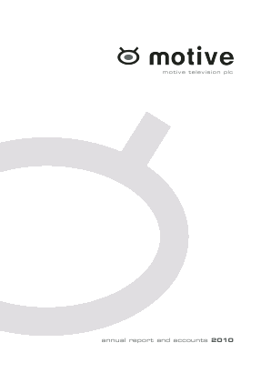 Motive Television annual report 2010