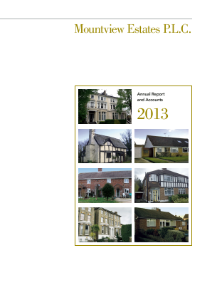 Mountview Estates annual report 2013