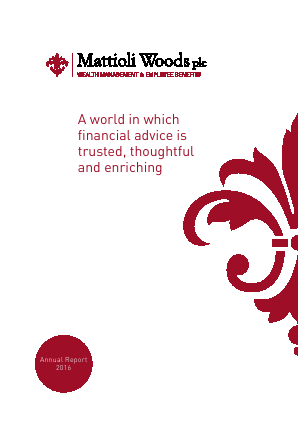 Mattioli Woods annual report 2016