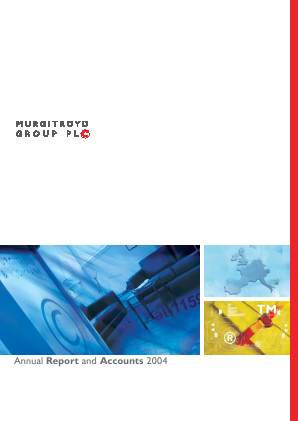 Murgitroyd Group annual report 2004