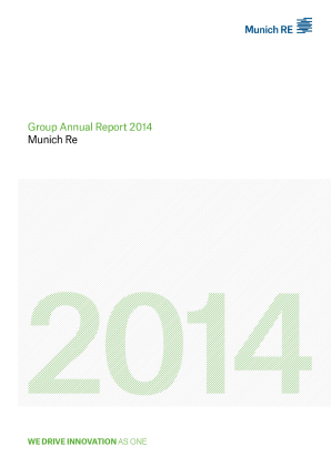 Munich Re Group annual report 2014