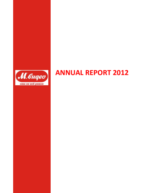 M.video annual report 2012