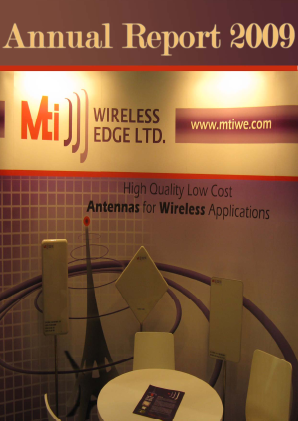 MTI Wireless Edge annual report 2009