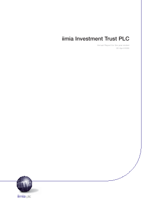 Milton Global Opportunities plc (previously Miton Worldwide Growth Investment Trust Plc) annual report 2008