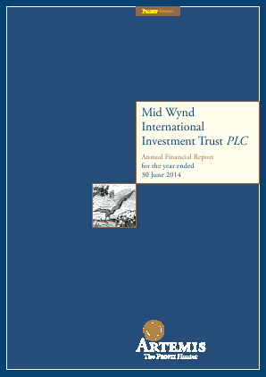 Mid Wynd International Investment Trust Plc annual report 2014