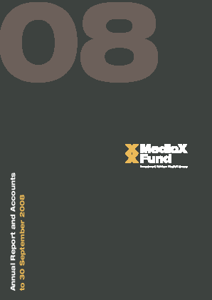 Medicx Fund annual report 2008