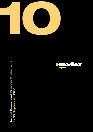 Medicx Fund annual report 2011