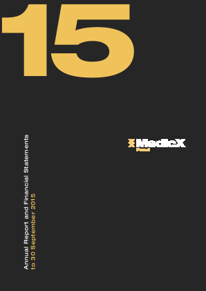 Medicx Fund annual report 2015