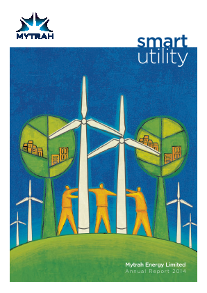 Mytrah Energy annual report 2014