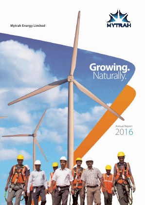 Mytrah Energy annual report 2016