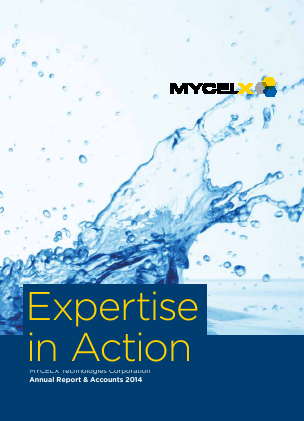 Mycelx Technologies Corp annual report 2014