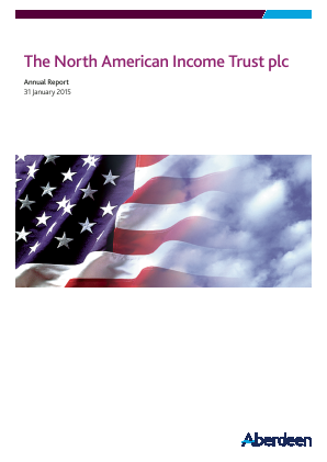 North American Income Trust (The) Plc annual report 2015