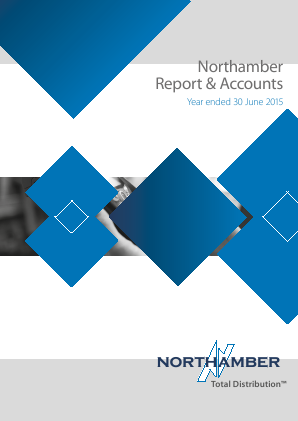 Northamber annual report 2015