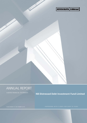 NB Distressed Debt Investment Fund Ltd annual report 2015