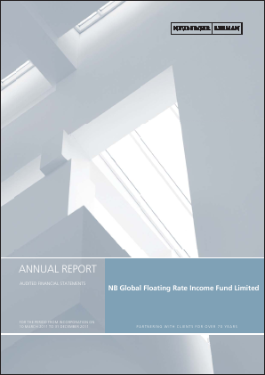 NB Global Floating Rate Income Fund Ltd annual report 2011
