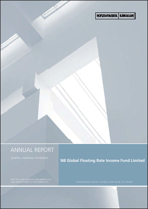 NB Global Floating Rate Income Fund annual report 2012