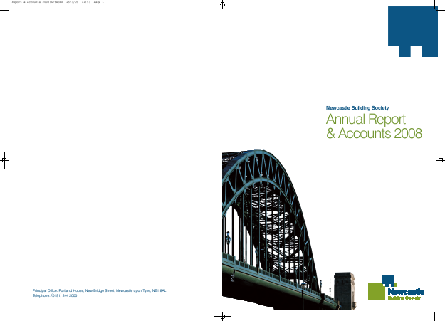 Newcastle Building Society annual report 2008