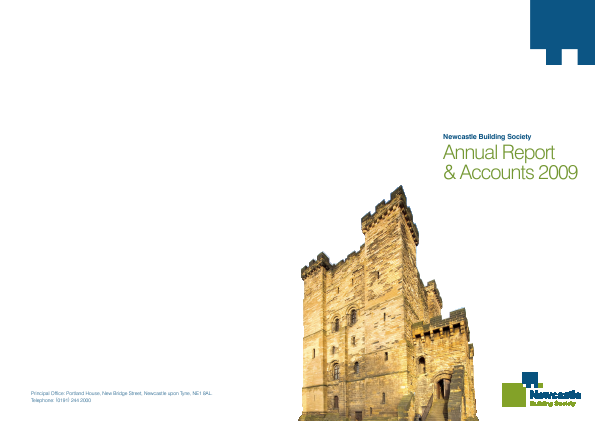 Newcastle Building Society annual report 2009