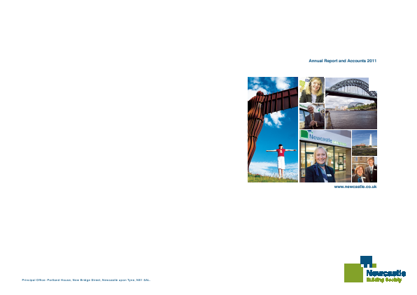 Newcastle Building Society annual report 2011