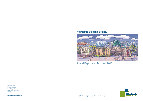 Newcastle Building Society annual report 2013
