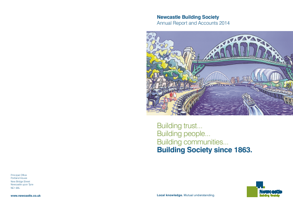 Newcastle Building Society annual report 2014