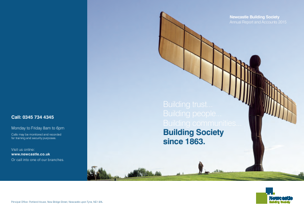 Newcastle Building Society annual report 2015