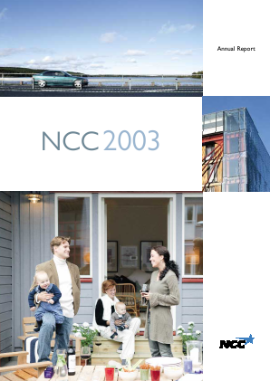 NCC annual report 2003