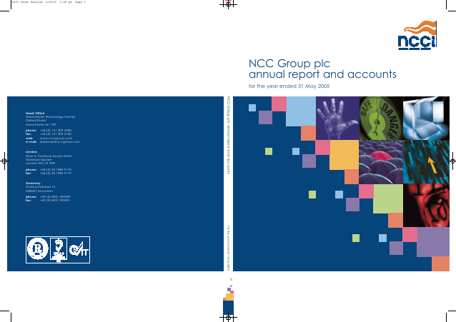 NCC Group annual report 2005