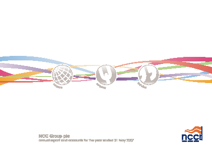 NCC Group annual report 2007