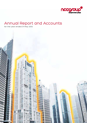 NCC Group annual report 2012